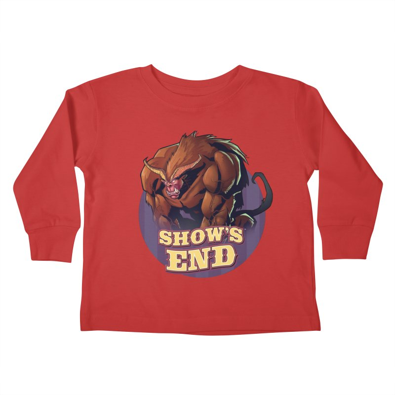 Show's End: Daemon Kids Toddler Longsleeve T-Shirt by Mad Cave Studios's Artist Shop