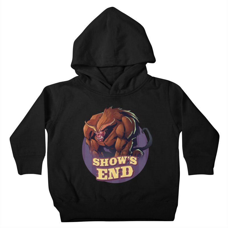 Show's End: Daemon Kids Toddler Pullover Hoody by Mad Cave Studios's Artist Shop