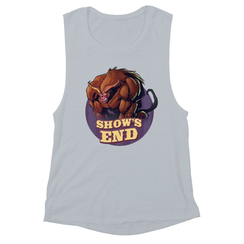 Show's End: Daemon Women's Muscle Tank by Mad Cave Studios's Artist Shop