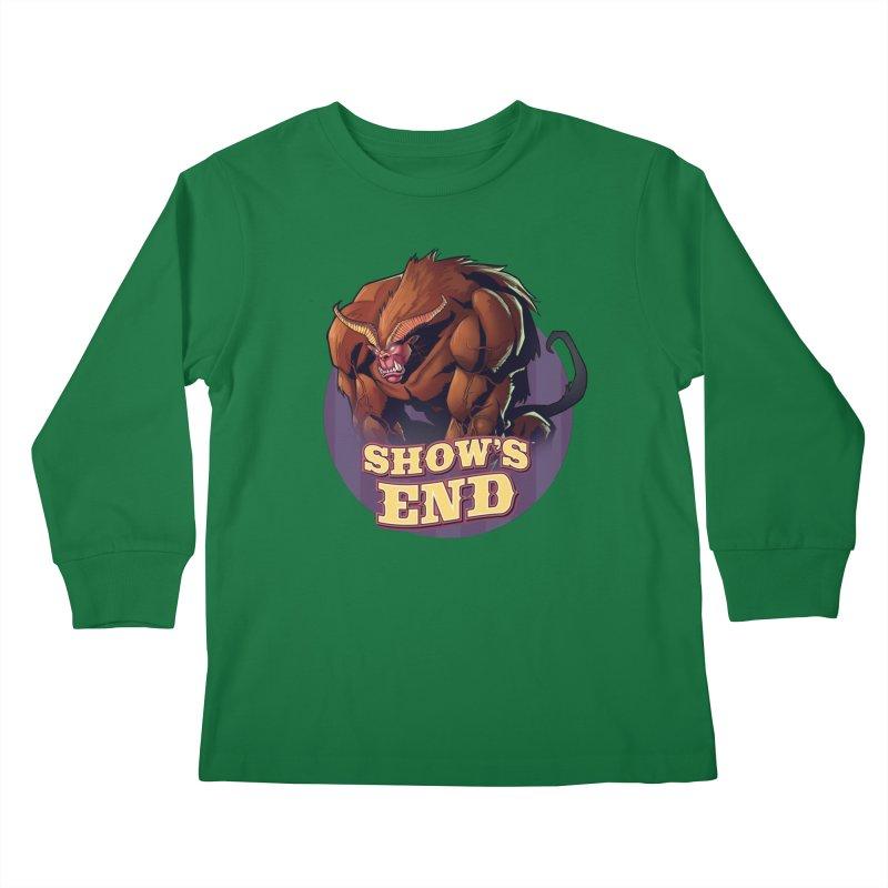 Show's End: Daemon Kids Longsleeve T-Shirt by Mad Cave Studios's Artist Shop