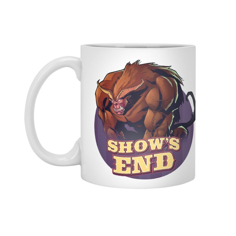 Show's End: Daemon Accessories Standard Mug by Mad Cave Studios's Artist Shop