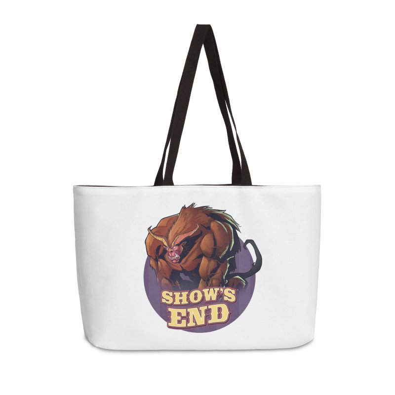 Show's End: Daemon Accessories Weekender Bag Bag by Mad Cave Studios's Artist Shop