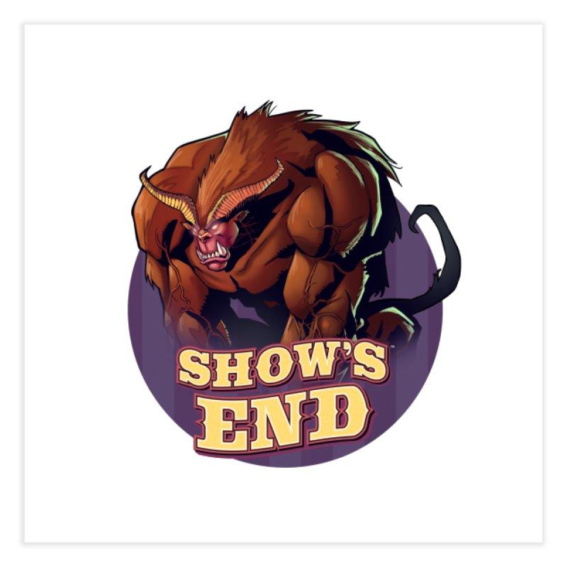 Show's End: Daemon Home Fine Art Print by Mad Cave Studios's Artist Shop