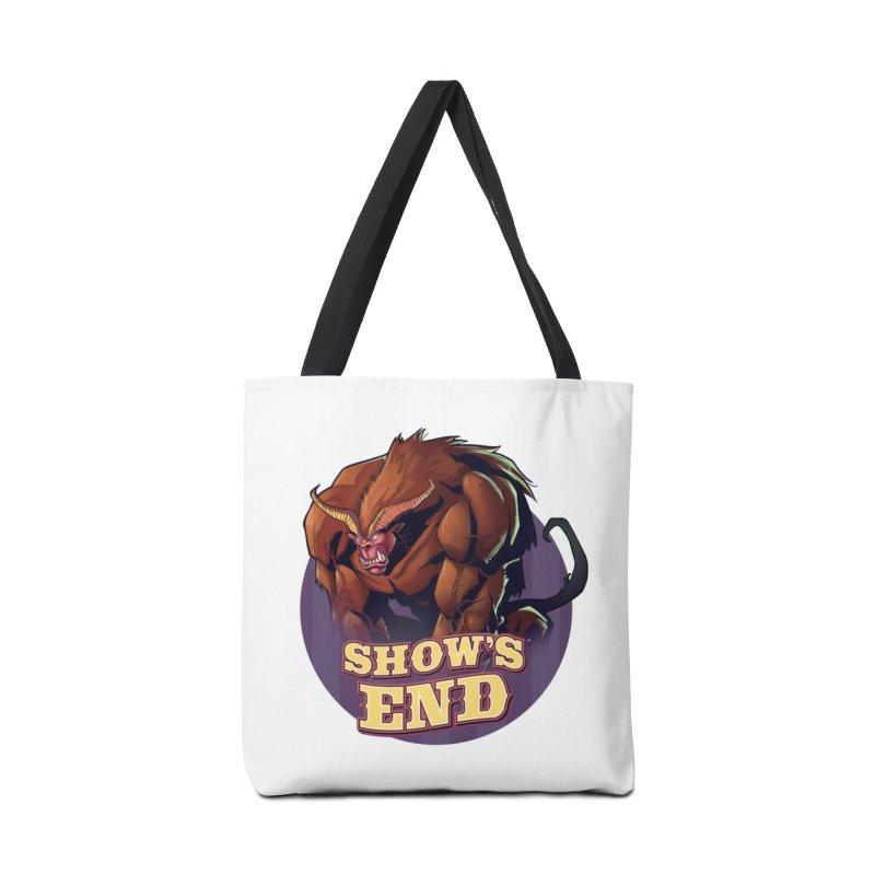 Show's End: Daemon Accessories Tote Bag Bag by Mad Cave Studios's Artist Shop