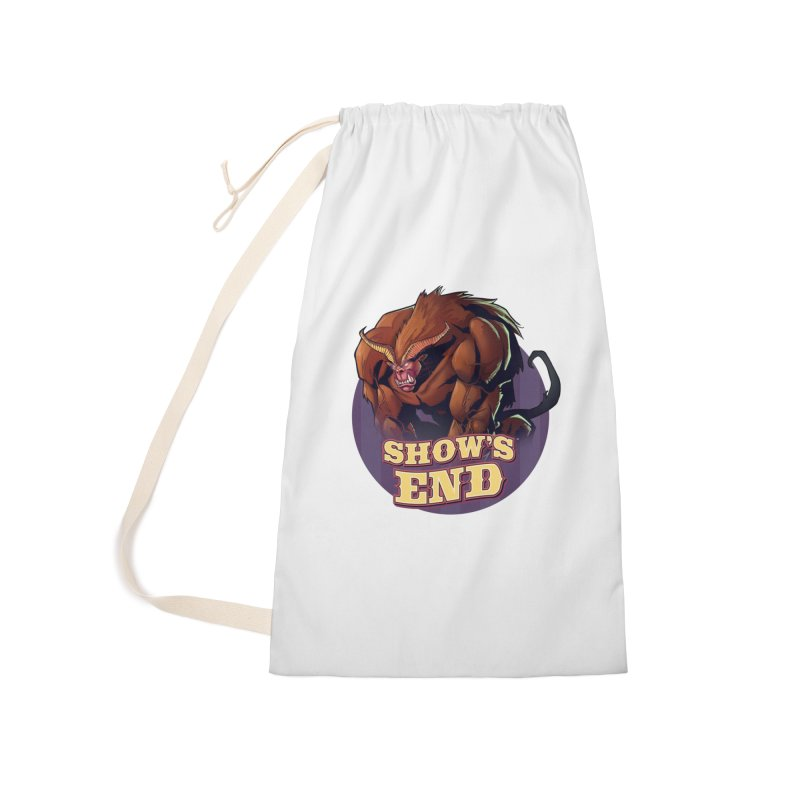 Show's End: Daemon Accessories Laundry Bag Bag by Mad Cave Studios's Artist Shop