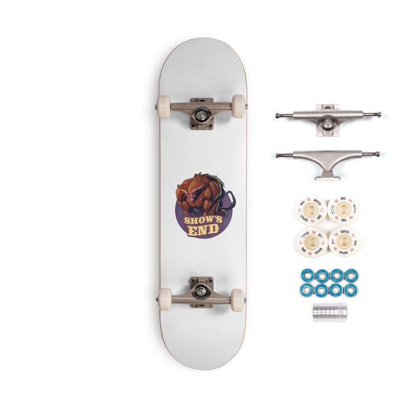Show's End: Daemon Accessories Complete - Premium Skateboard by Mad Cave Studios's Artist Shop