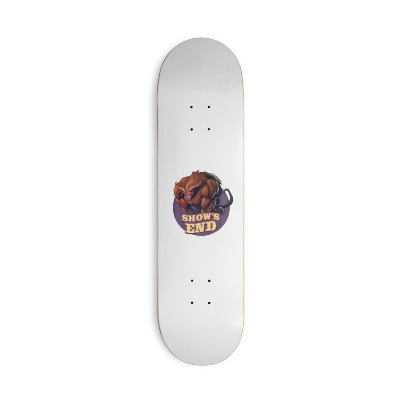 Show's End: Daemon Accessories Deck Only Skateboard by Mad Cave Studios's Artist Shop