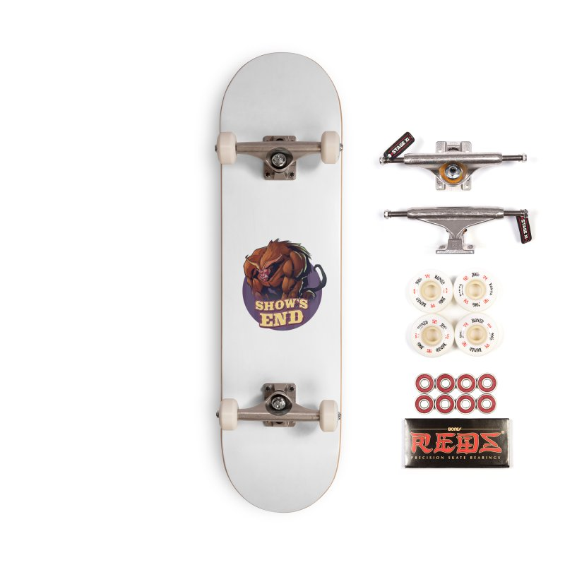 Show's End: Daemon Accessories Complete - Pro Skateboard by Mad Cave Studios's Artist Shop