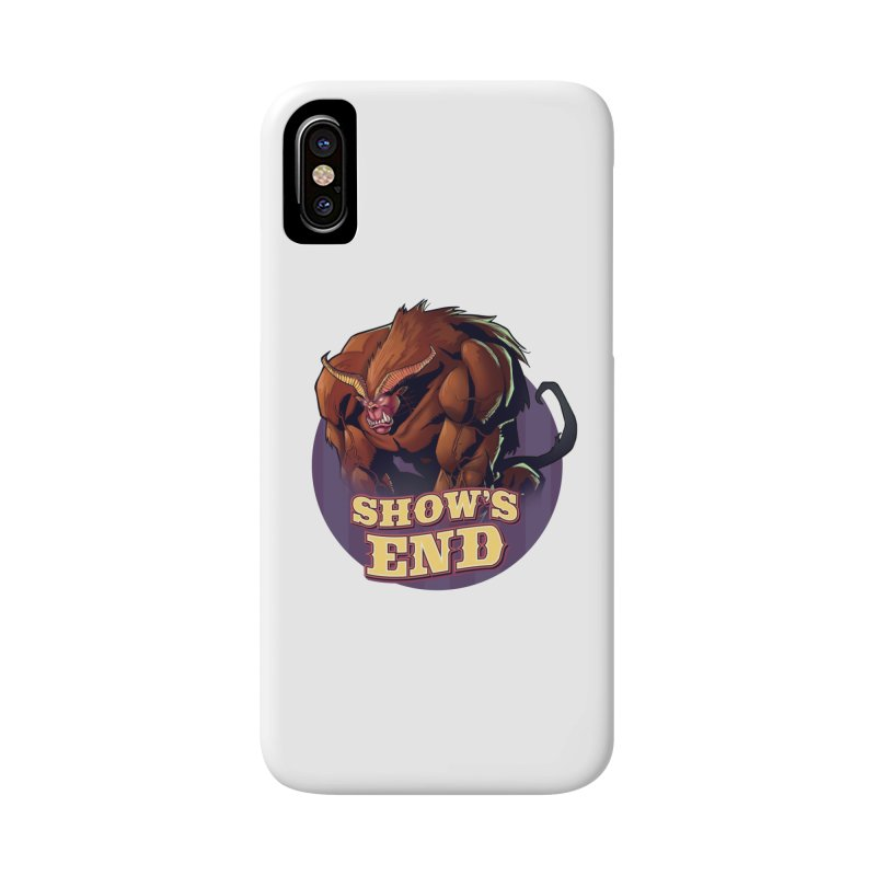 Show's End: Daemon Accessories Phone Case by Mad Cave Studios's Artist Shop