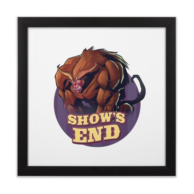 Show's End: Daemon Home Framed Fine Art Print by Mad Cave Studios's Artist Shop