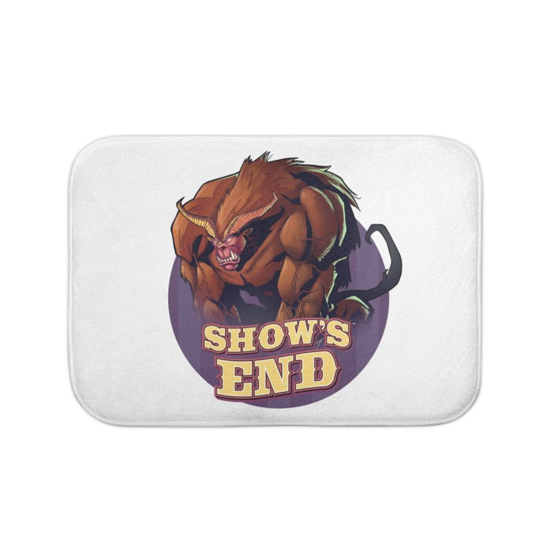 Show's End: Daemon Home Bath Mat by Mad Cave Studios's Artist Shop