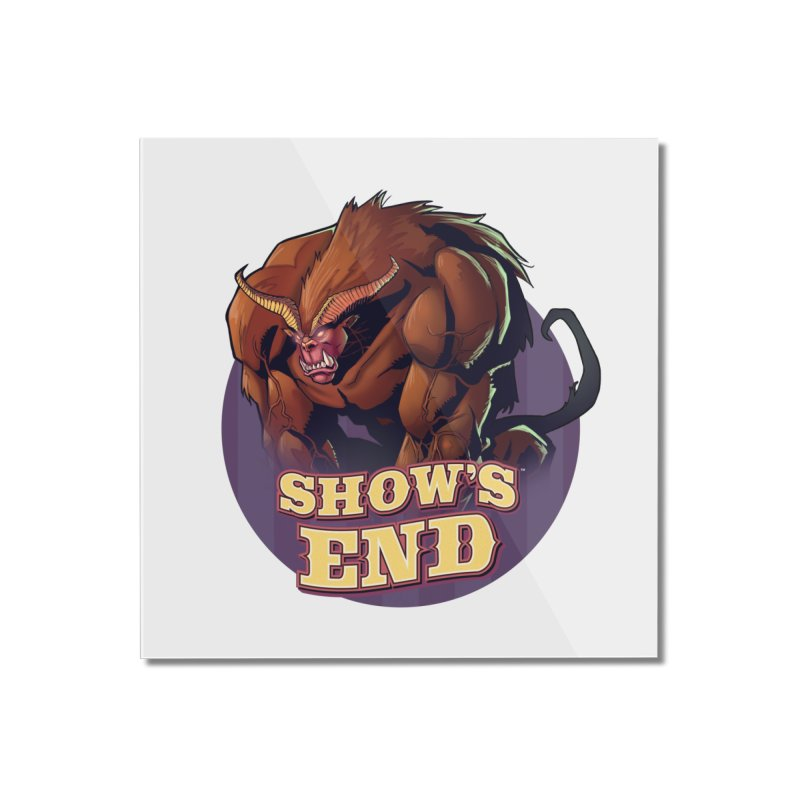 Show's End: Daemon Home Mounted Acrylic Print by Mad Cave Studios's Artist Shop