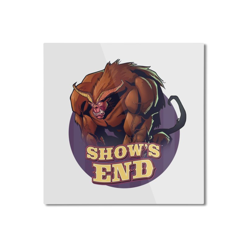 Show's End: Daemon Home Mounted Aluminum Print by Mad Cave Studios's Artist Shop