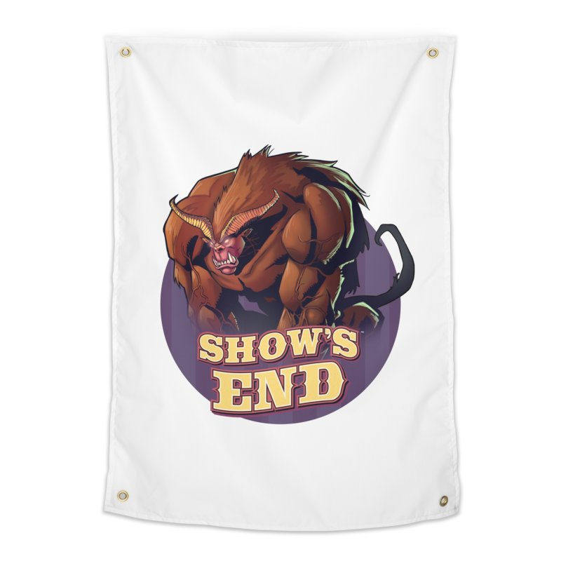 Show's End: Daemon Home Tapestry by Mad Cave Studios's Artist Shop