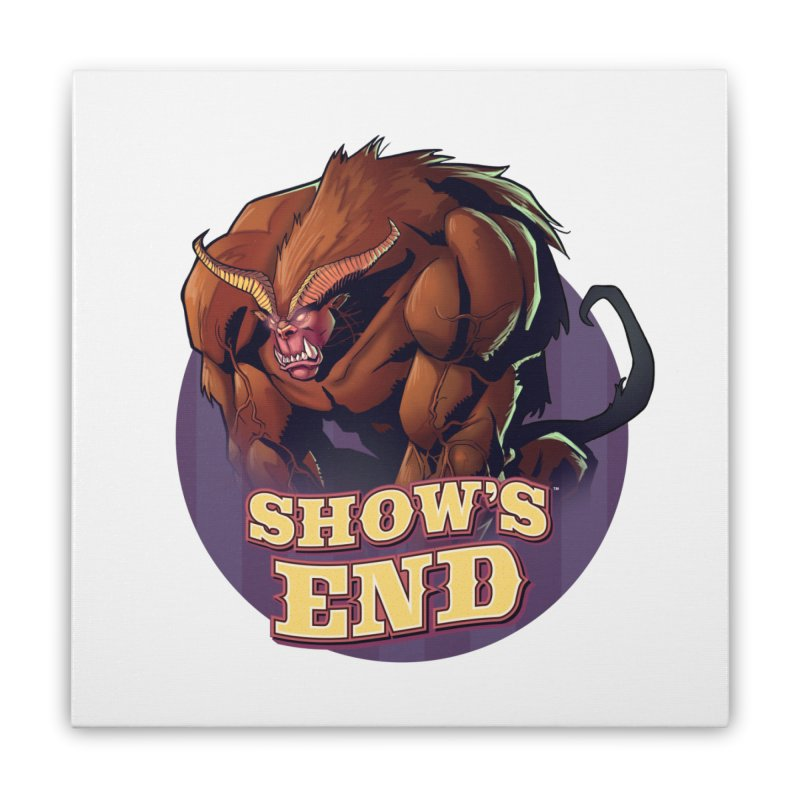 Show's End: Daemon Home Stretched Canvas by Mad Cave Studios's Artist Shop
