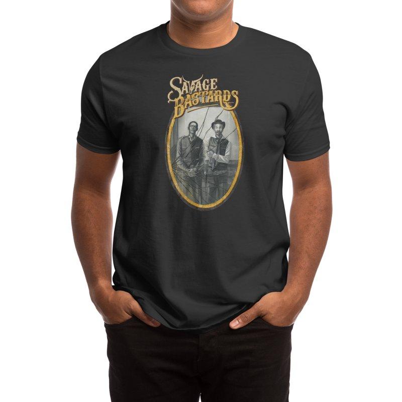 Savage Bastards - Sons of a Gun Men's T-Shirt by Mad Cave Studios's Artist Shop