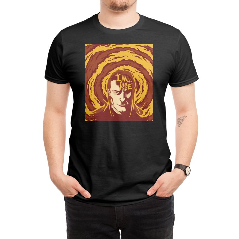 Over The Ropes - Phoenix Rising Men's T-Shirt by Mad Cave Studios's Artist Shop