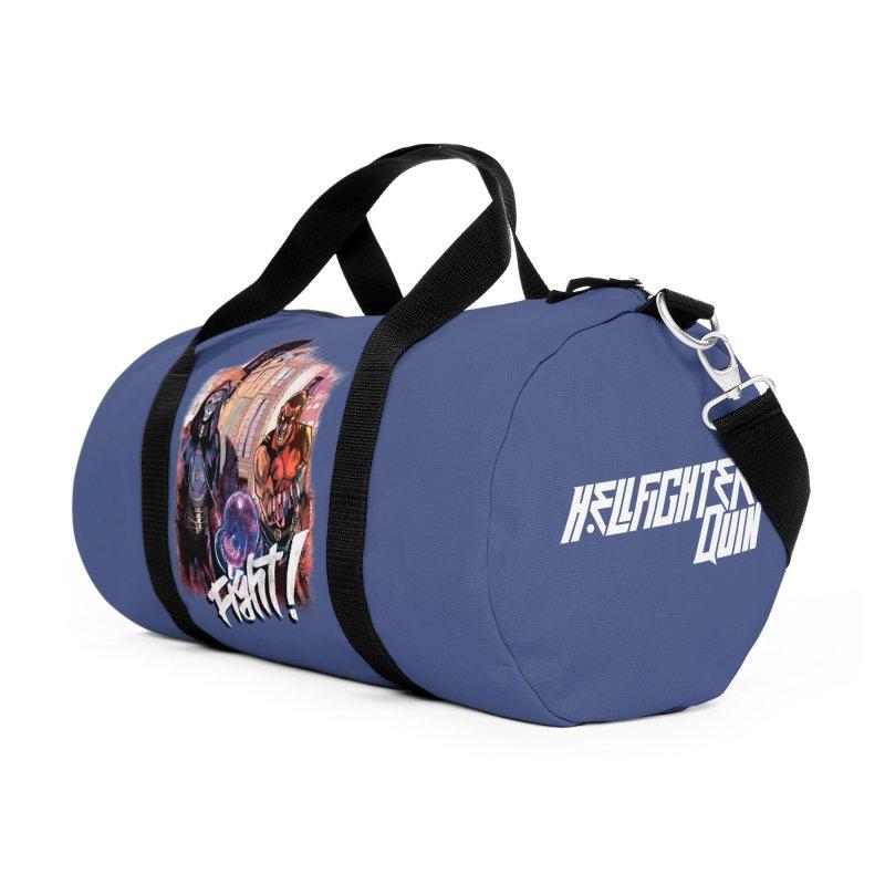 Hellfighter Quin - Doomseer Vs Quin Accessories Bag by Mad Cave Studios's Artist Shop