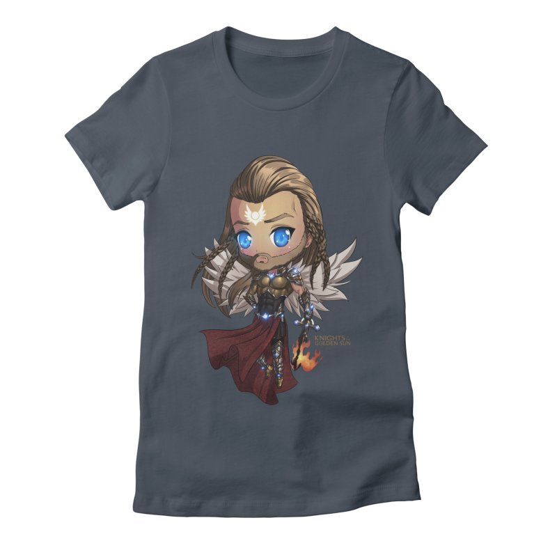 Chibi Michael - Knights of The Golden Sun Women's T-Shirt by Mad Cave Studios's Artist Shop