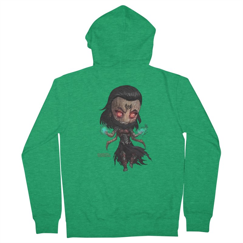 Chibi Lucifer - Knights of The Golden Sun Men's Zip-Up Hoody by Mad Cave Studios's Artist Shop