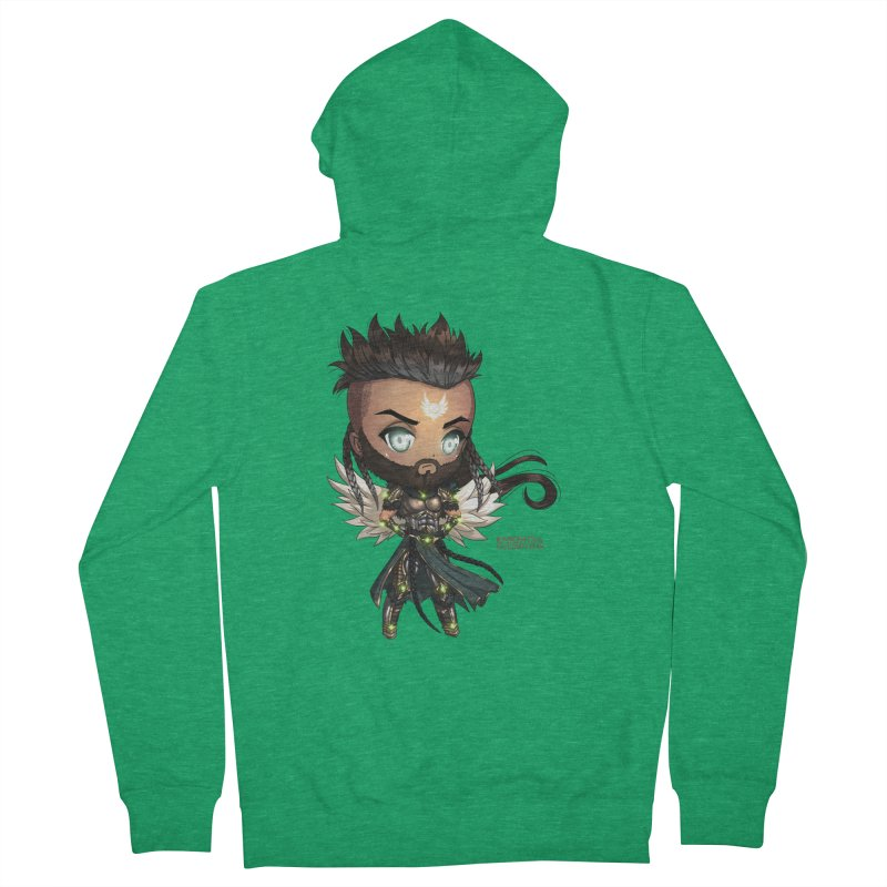 Chibi Raphael - Knights of The Golden Sun Men's Zip-Up Hoody by Mad Cave Studios's Artist Shop