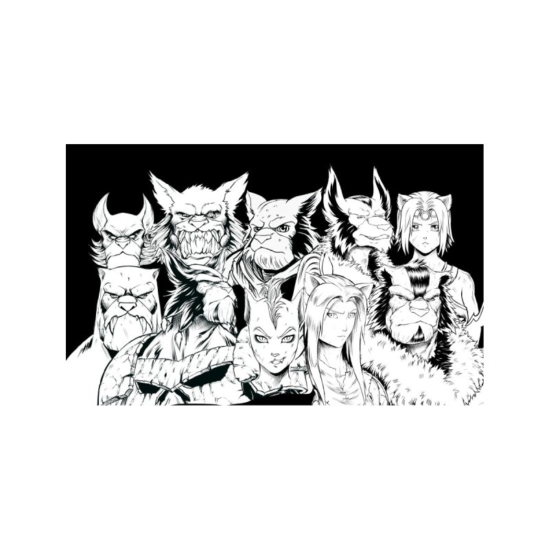 Together We Are Stronger - Battlecats Accessories Face Mask by Mad Cave Studios's Artist Shop