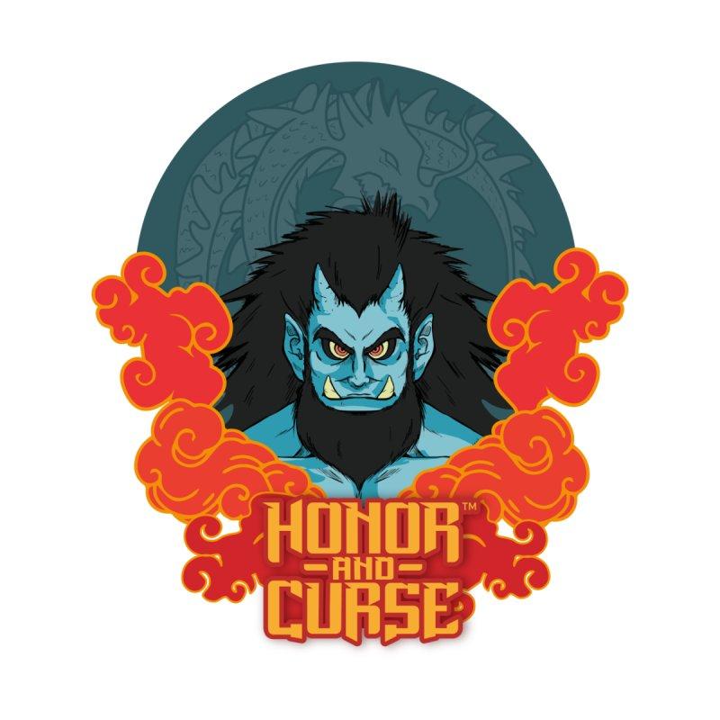 Honor and Curse: Tengu Men's Sweatshirt by Mad Cave Studios's Artist Shop