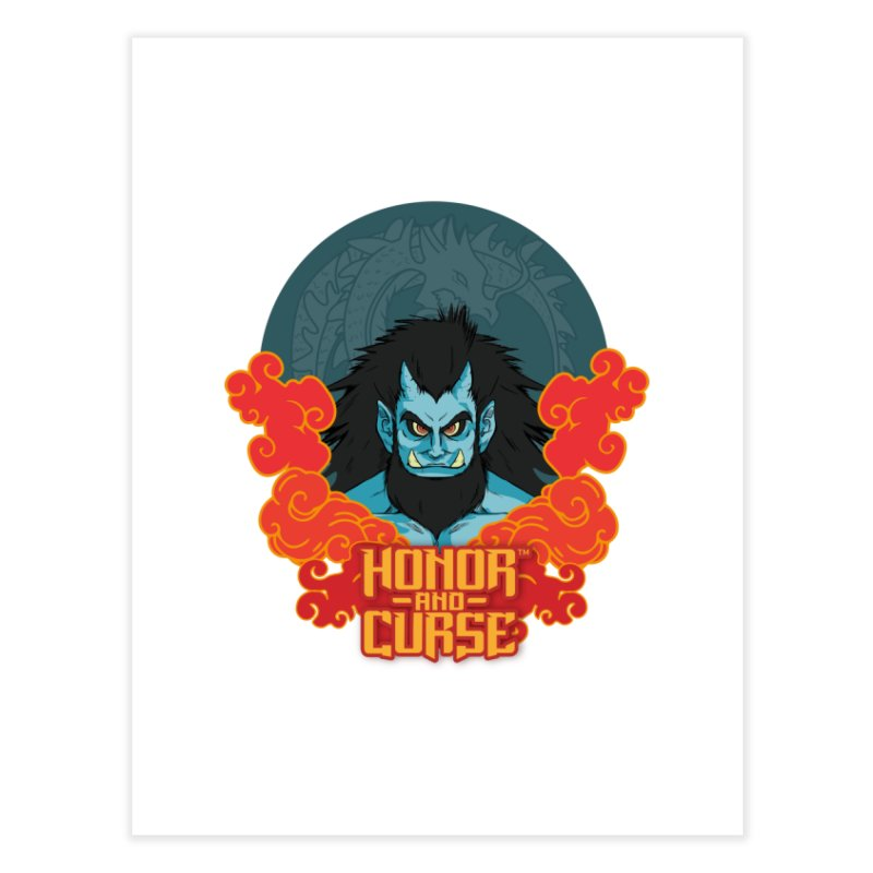 Honor and Curse: Tengu Home Fine Art Print by Mad Cave Studios's Artist Shop
