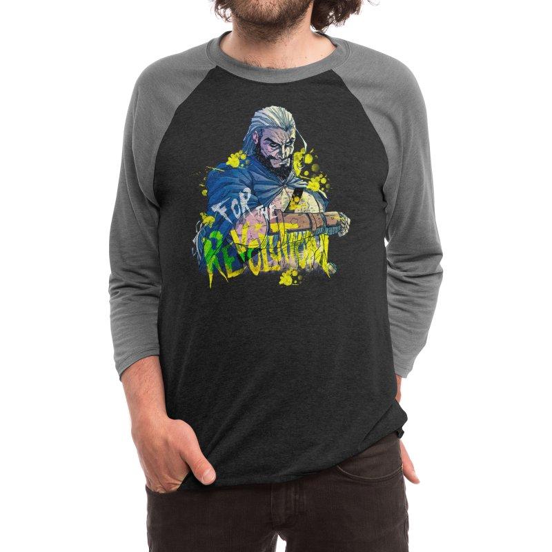 RV9 - For The Revolution Men's Longsleeve T-Shirt by Mad Cave Studios's Artist Shop