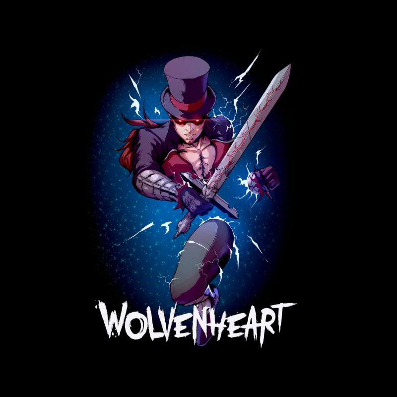 Wolvenheart - Sterling Men's Tank by Mad Cave Studios's Artist Shop