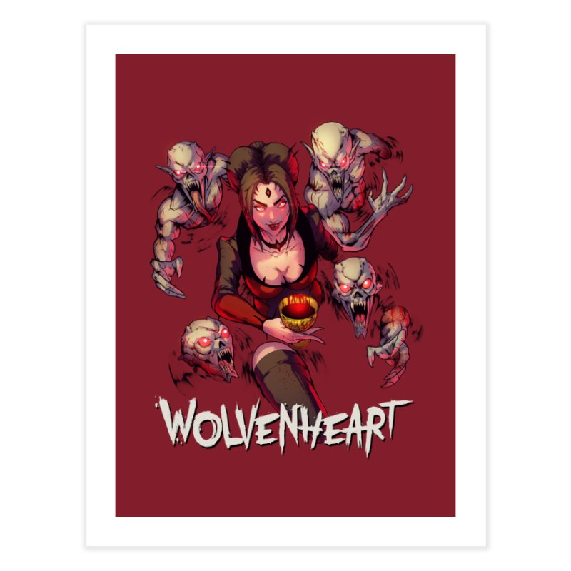 Wolvenheart - Elizabeth Home Fine Art Print by Mad Cave Studios's Artist Shop