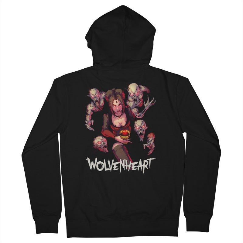 Wolvenheart - Elizabeth Men's Zip-Up Hoody by Mad Cave Studios's Artist Shop