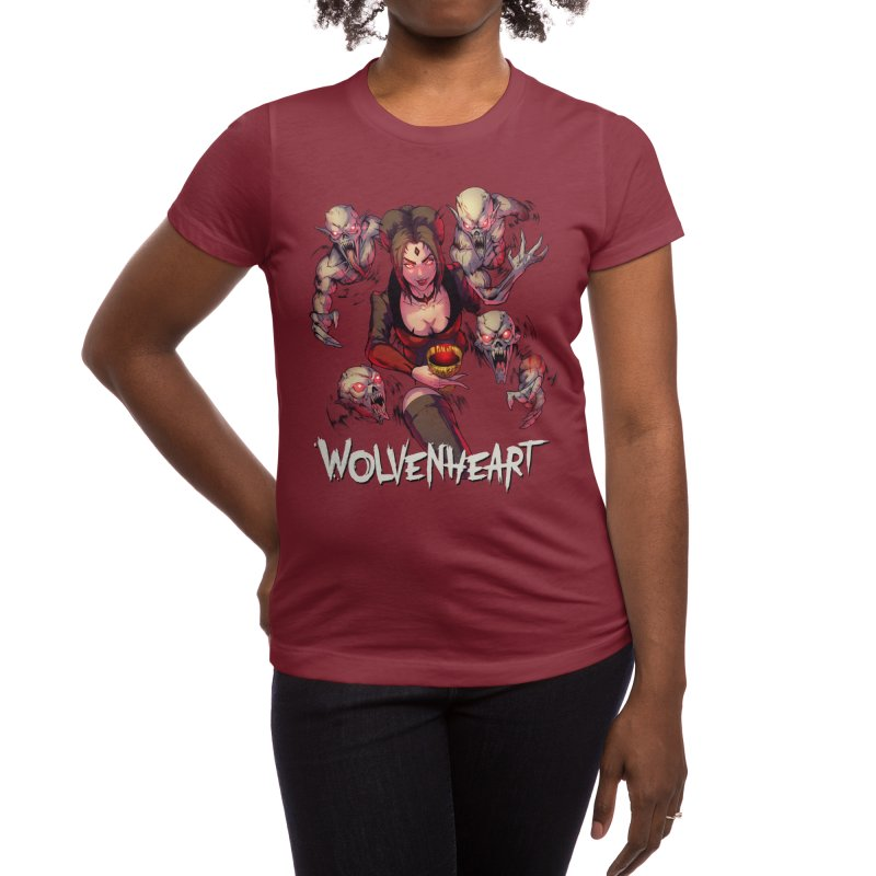 Wolvenheart - Elizabeth Women's T-Shirt by Mad Cave Studios's Artist Shop