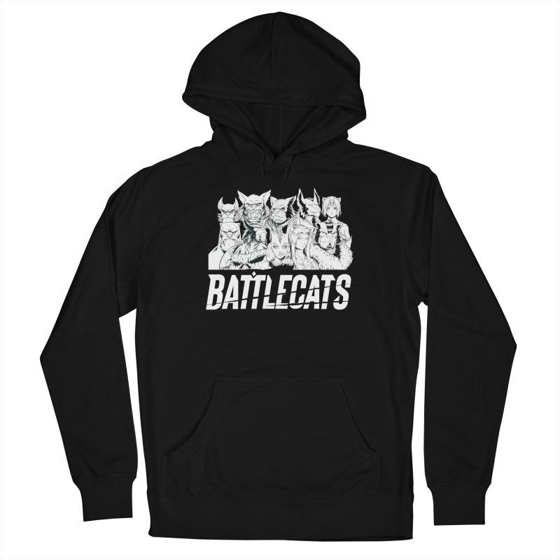Battlecats - Elite Warriors and Rebels Men's Pullover Hoody by Mad Cave Studios's Artist Shop
