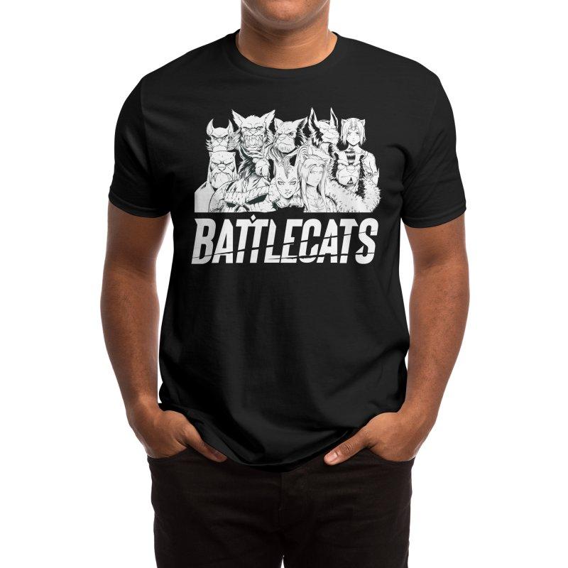 Battlecats - Elite Warriors and Rebels Men's T-Shirt by Mad Cave Studios's Artist Shop