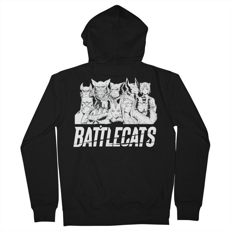 Battlecats - Elite Warriors and Rebels Men's Zip-Up Hoody by Mad Cave Studios's Artist Shop