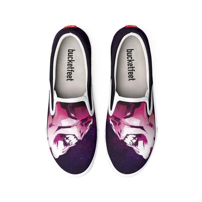 Stargazer - Disco Volante Men's Shoes by Mad Cave Studios's Artist Shop