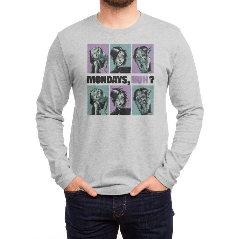 Villainous - Tilly on Mondays Men's Longsleeve T-Shirt by Mad Cave Studios's Artist Shop