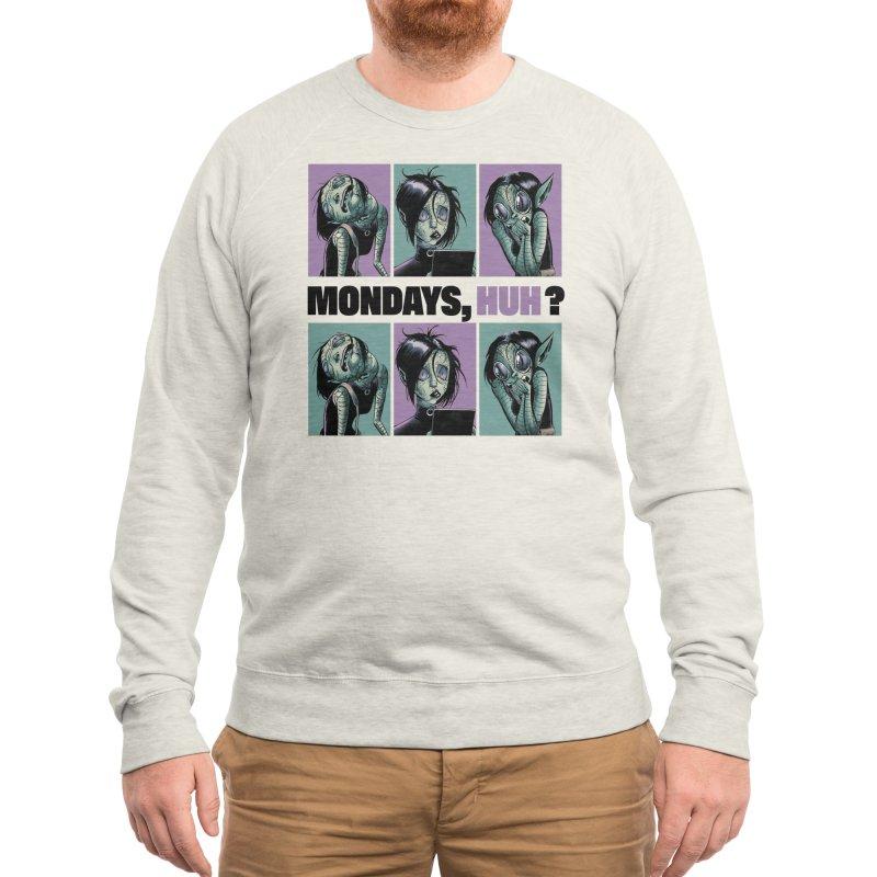 Villainous - Tilly on Mondays Men's Sweatshirt by Mad Cave Studios's Artist Shop