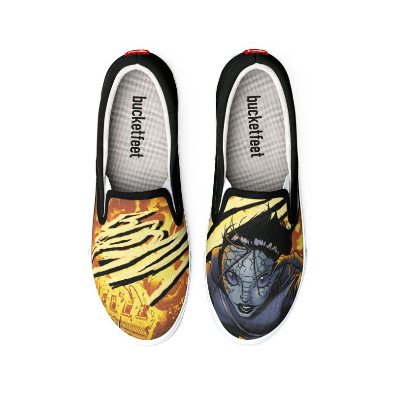 Villainous - Tilly on Mondays Men's Shoes by Mad Cave Studios's Artist Shop
