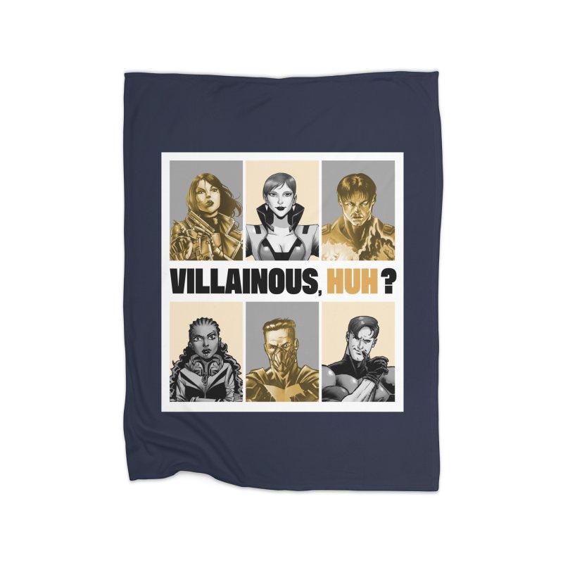 Villainous - Meet the Villains Home Blanket by Mad Cave Studios's Artist Shop