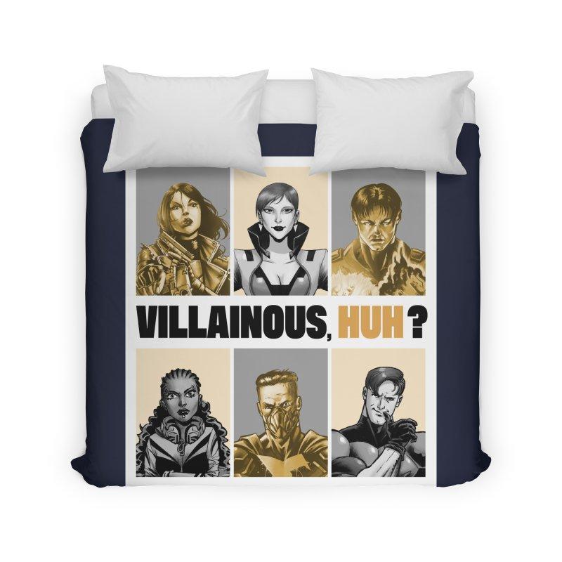 Villainous - Meet the Villains Home Duvet by Mad Cave Studios's Artist Shop