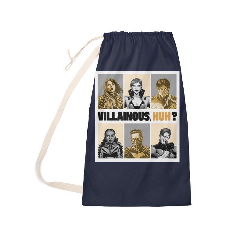 Villainous - Meet the Villains Accessories Bag by Mad Cave Studios's Artist Shop