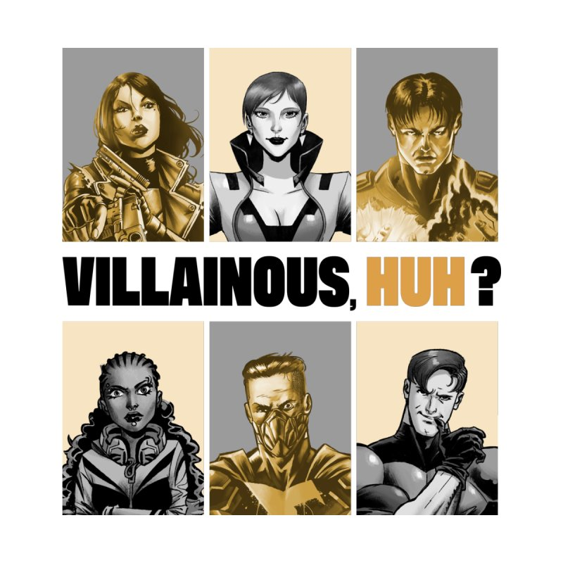 Villainous - Meet the Villains Accessories Skateboard by Mad Cave Studios's Artist Shop