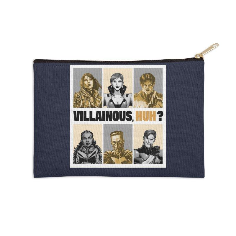 Villainous - Meet the Villains Accessories Zip Pouch by Mad Cave Studios's Artist Shop