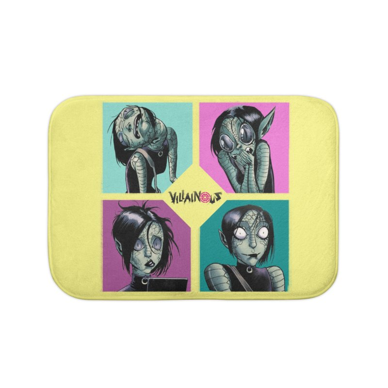 Rep-Tilly Home Bath Mat by Mad Cave Studios's Artist Shop