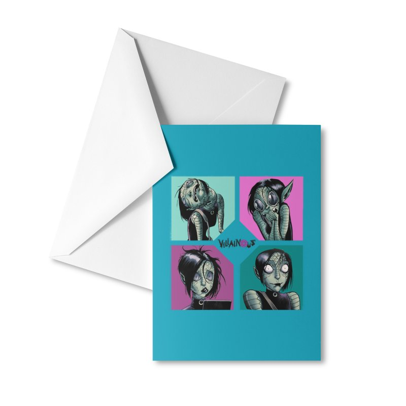 Rep-Tilly Accessories Greeting Card by Mad Cave Studios's Artist Shop