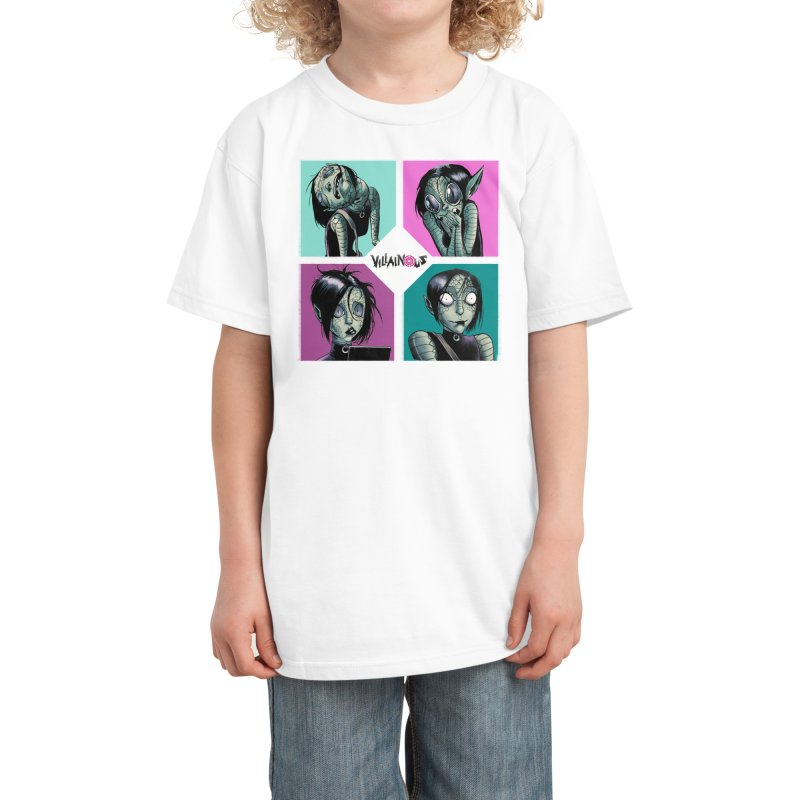Rep-Tilly Kids T-Shirt by Mad Cave Studios's Artist Shop