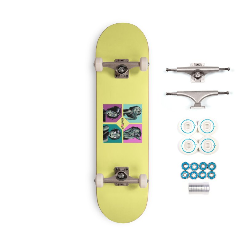 Rep-Tilly Accessories Skateboard by Mad Cave Studios's Artist Shop