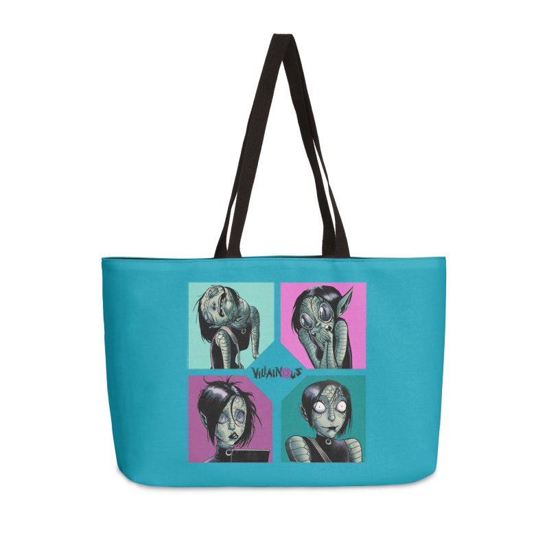 Rep-Tilly Accessories Bag by Mad Cave Studios's Artist Shop